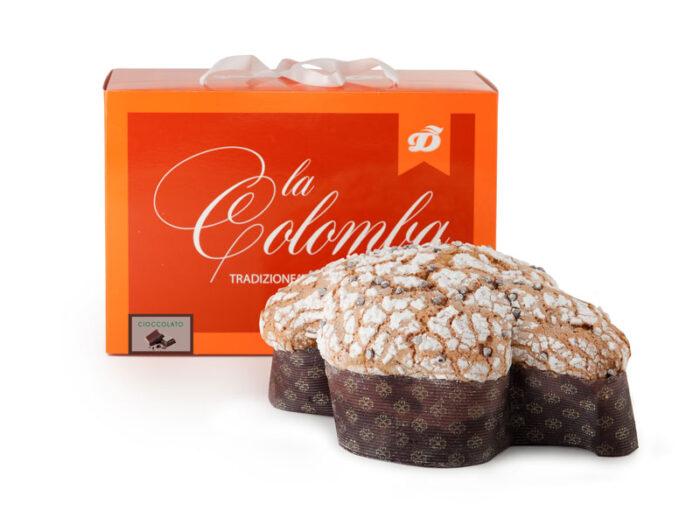 colomba al cioccolato artigianale Dolcemascolo